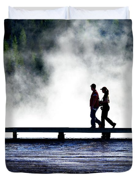 Yellowstone Walkers Duvet Cover