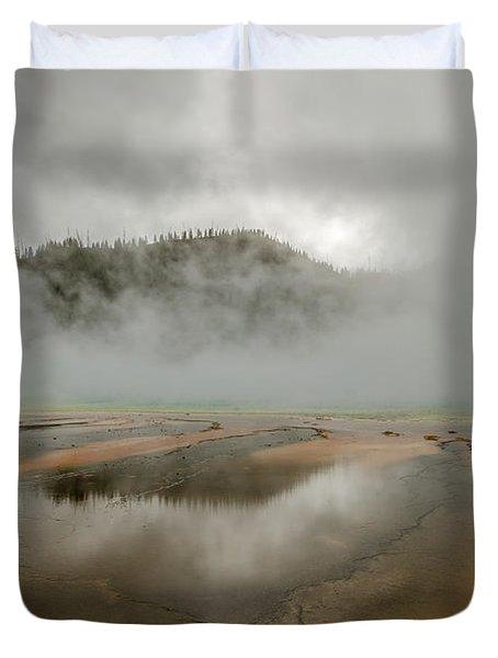 Yellowstone's Beauty Duvet Cover