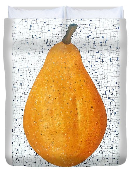 Yelow Pear Duvet Cover