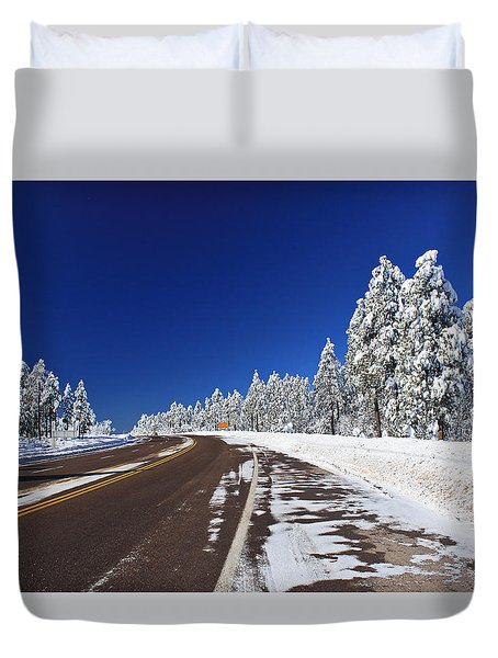 Yes Its Arizona Duvet Cover