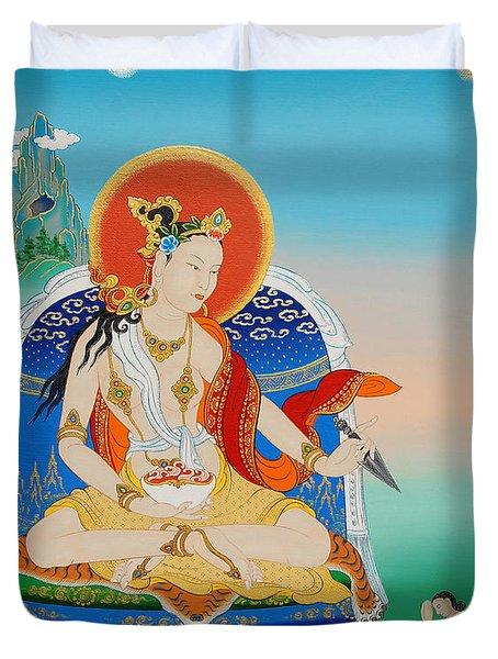 Yeshe Tsogyal Duvet Cover