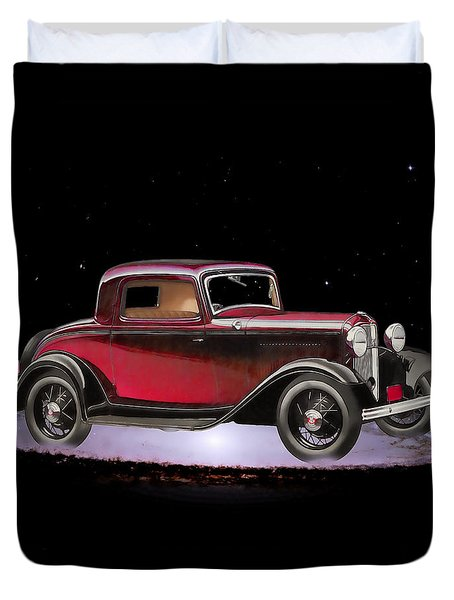 Yesterdays Car Of Tomorrow Duvet Cover