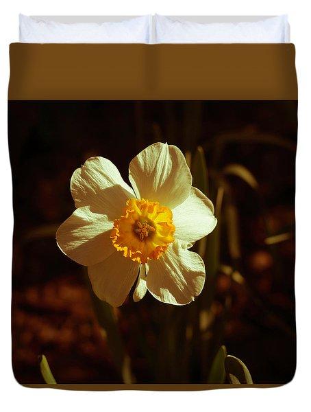 Yesteryear Daffodil Duvet Cover