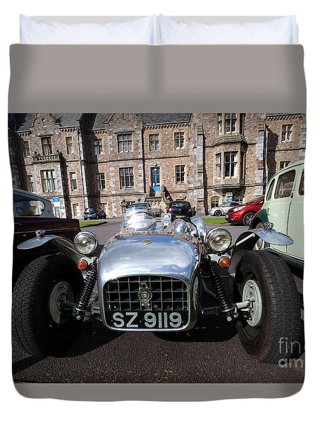 Duvet Cover featuring the photograph Yesurday  by Gary Bridger