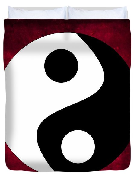 Yin And Yang Duvet Cover