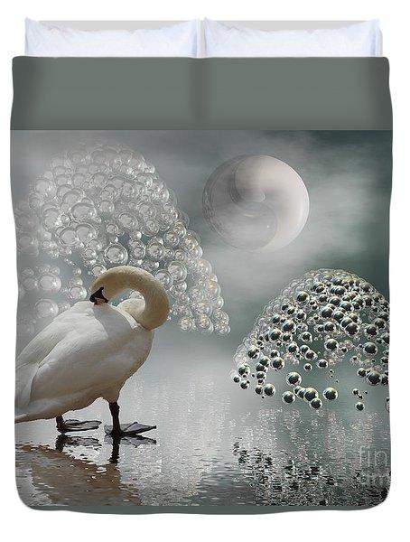 Yinyang - Moon Duvet Cover