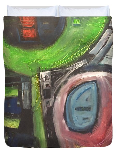 YO Duvet Cover by Tim Nyberg