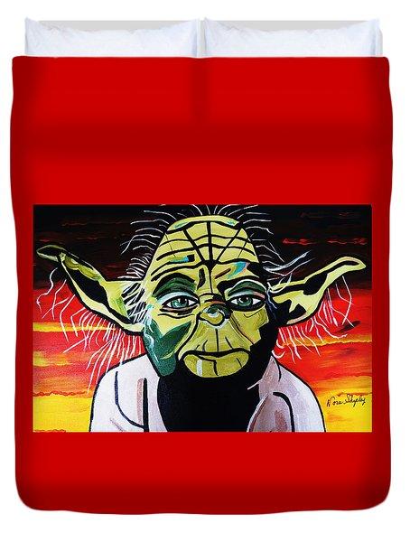 Yoda  Come Home Duvet Cover