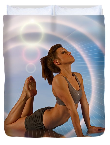 Yoga Girl 1209206 Duvet Cover