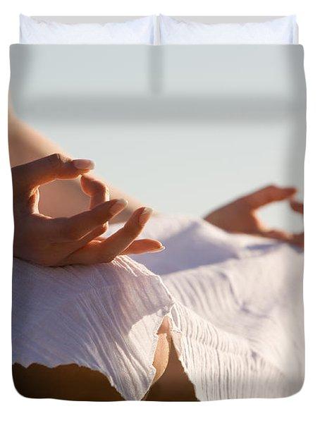 Yoga Duvet Cover by Kati Molin