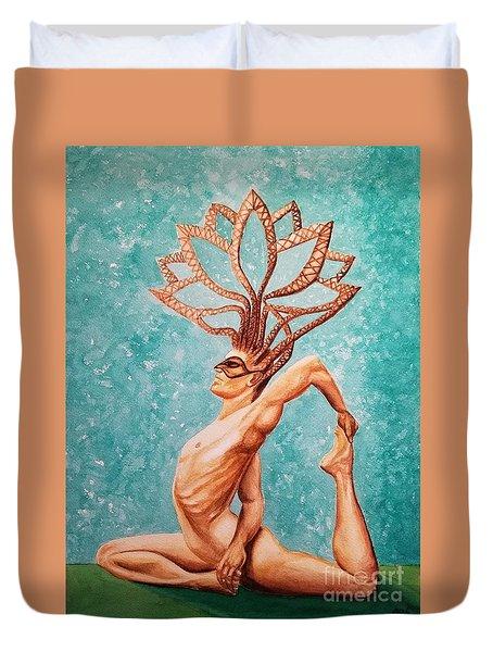 Yogi Duvet Cover
