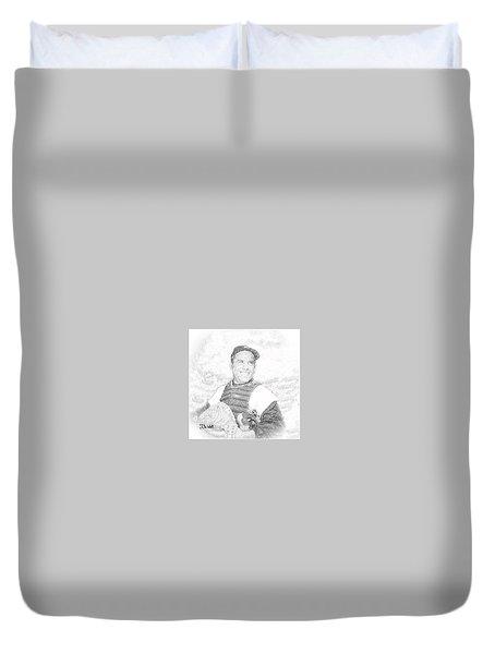 Yogi Berra Duvet Cover