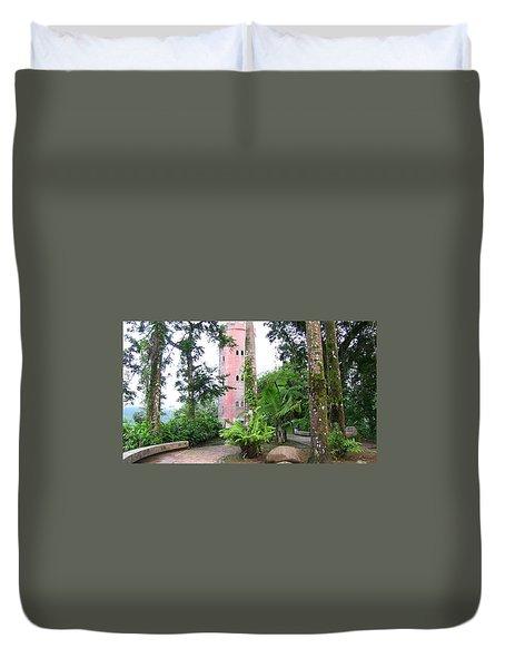 Yokahu Observation Tower Duvet Cover