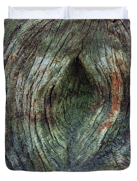 Yoni Au Naturel Une Duvet Cover