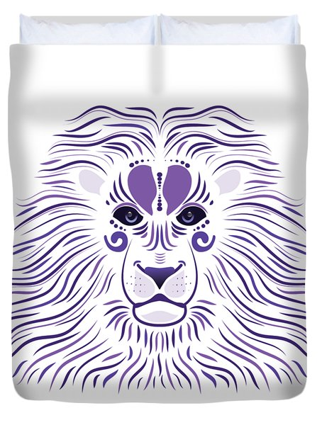 Yoni The Lion - Light Duvet Cover