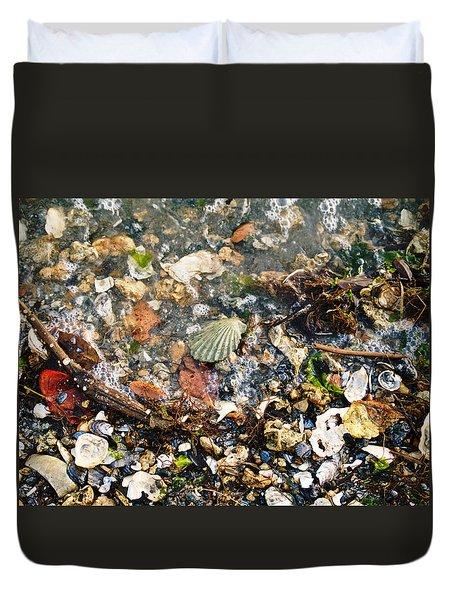 York Beach Shore Duvet Cover