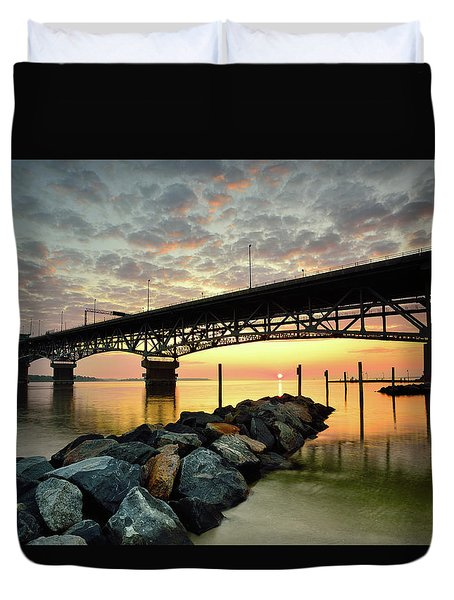 York River Sunrise Duvet Cover