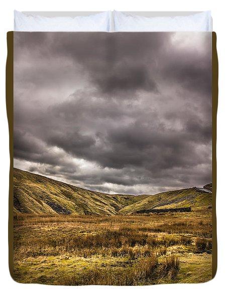 Yorkshire Hills Duvet Cover by David Warrington