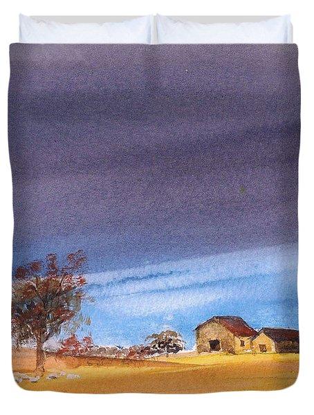 Yorkshire Landscape Duvet Cover