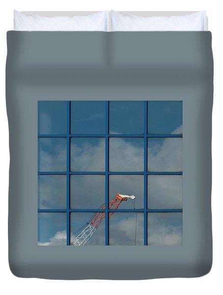 Yorkshire Windows 14 Duvet Cover
