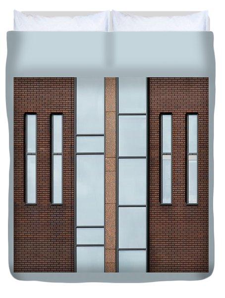 Yorkshire Windows 2 Duvet Cover
