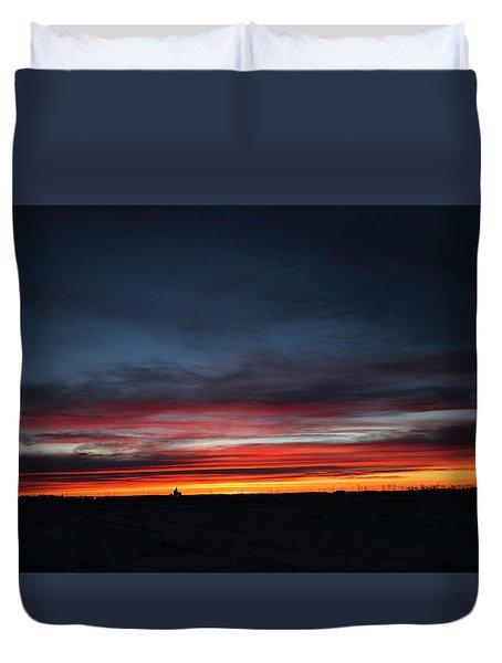 Yorkton Sunrise Duvet Cover