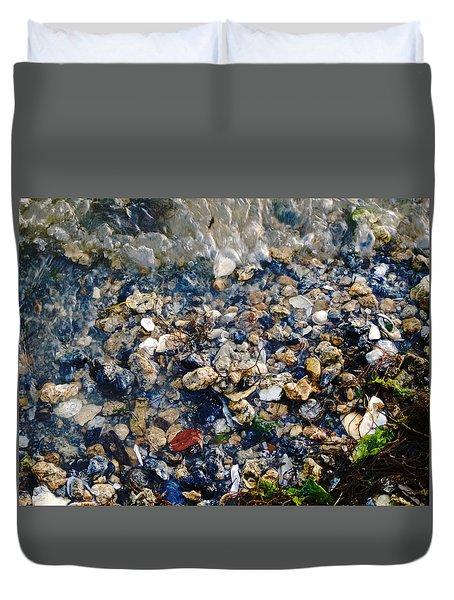 Yorktown Beach  Duvet Cover