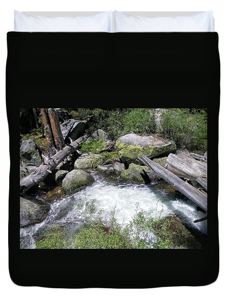Yosemite Whitewater Duvet Cover