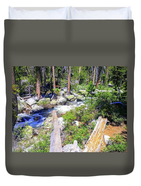 Yosemite Adventure Duvet Cover