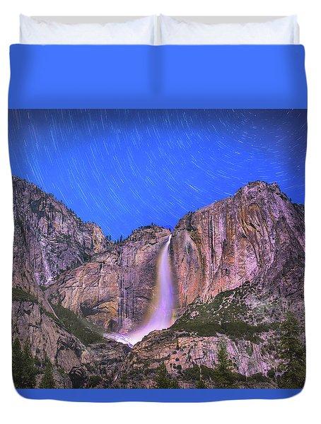 Yosemite At Night Duvet Cover