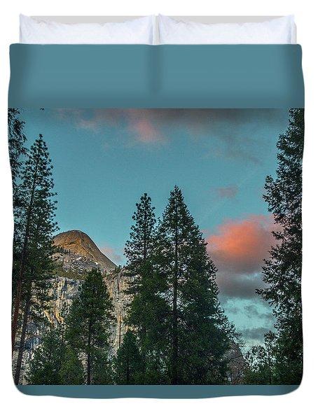 Yosemite Campside Evening Duvet Cover