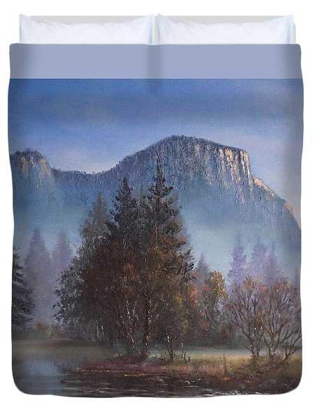 Yosemite Dawn Duvet Cover by Sean Conlon