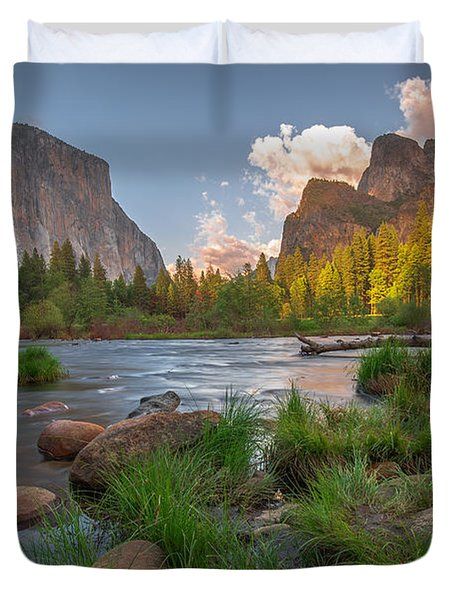 Yosemite Evening Duvet Cover