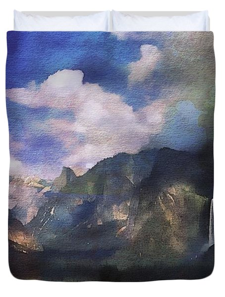 Yosemite H2o Color Duvet Cover