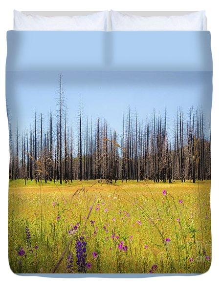 Yosemite Juxtaposition By Michael Tidwell Duvet Cover
