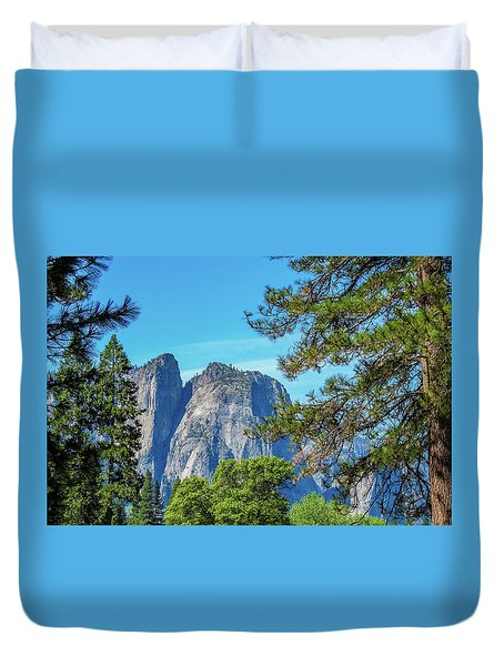 Yosemite Morning Duvet Cover