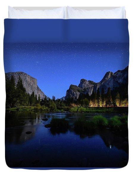 Yosemite Nights Duvet Cover