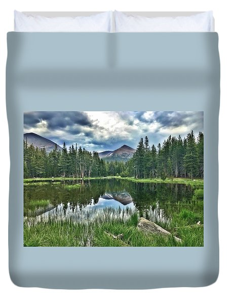 Yosemite Reflection Duvet Cover