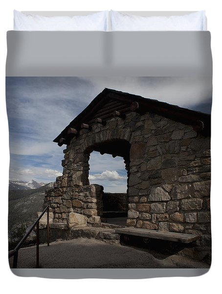Yosemite Refuge Duvet Cover by Ivete Basso Photography