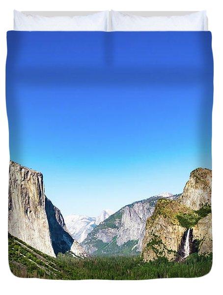 Yosemite Valley- Duvet Cover