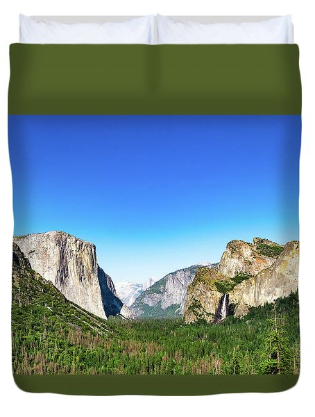 Yosemite Valley- Duvet Cover