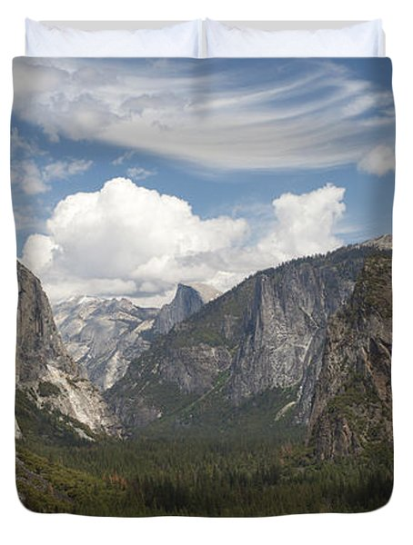 Yosemite Valley - Tunnel View Duvet Cover