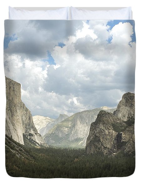 Yosemite Valley Yosemite National Park Duvet Cover