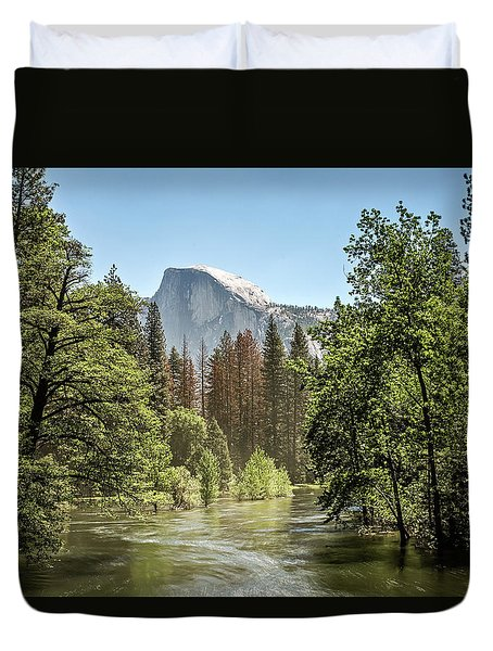 One Valley View Duvet Cover by Ryan Weddle