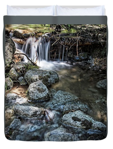 Yosemite View 17 Duvet Cover by Ryan Weddle