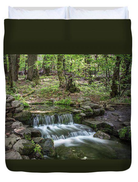 Yosemite View 23 Duvet Cover by Ryan Weddle
