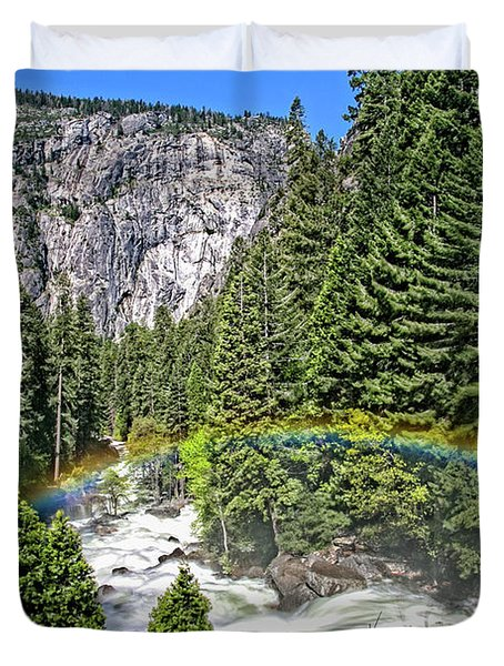 Yosemite View 29 Duvet Cover by Ryan Weddle