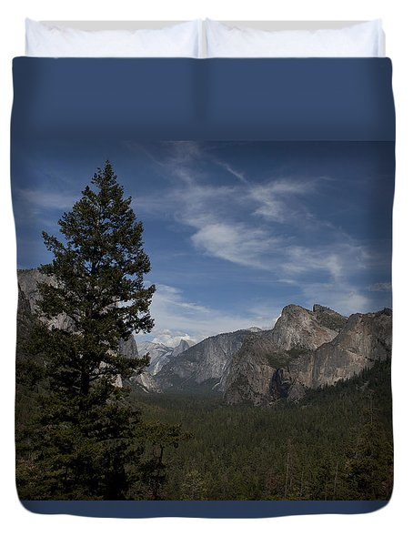 Yosemite View Duvet Cover by Ivete Basso Photography