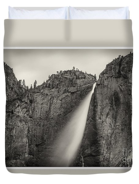 Yosemite Waterfall #2  Duvet Cover