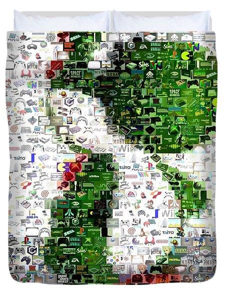 Yoshi Mosaic Duvet Cover